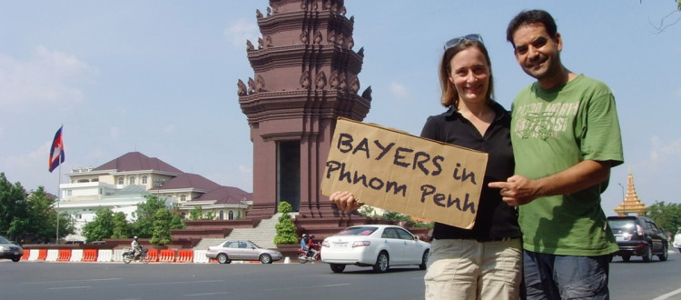 Bayers in Phnom Penh